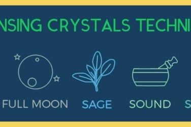 Cleansing crystals infographics