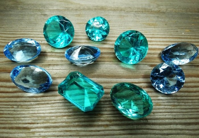 aquamarine Crystals for kids