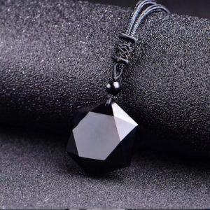 Obsidian Necklace