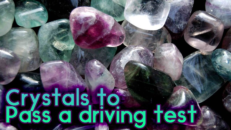 crystals for driving test